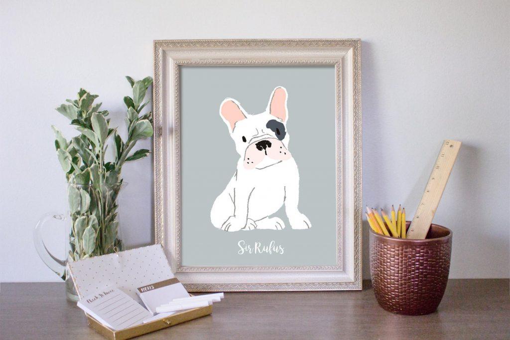 portrait-animal-personnalisé-15-cadeaux-pour-feter-celibat-saint-valentin-celibataire-40-ans-et-plus-2